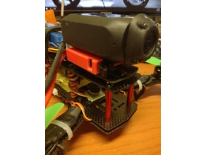 Drift Camera Mount for 250 carbon fiber frame