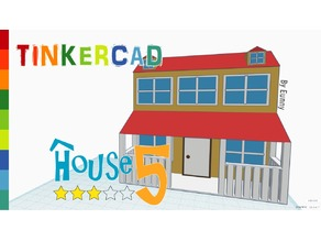 House 5 _Level 3 with Tinkercad