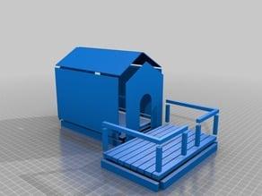 Buildable Dog House v2 (w/ porch)