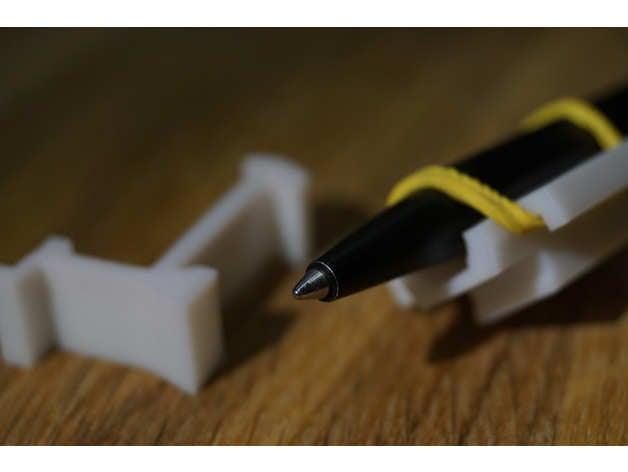Pen holder for Creality Ender 3 (plotter mod) by pascalmakes