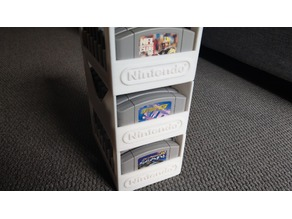 Nintendo 64 - 8 Cartridge Game Holder