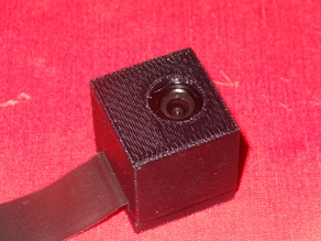 Box Case for RPi Camera Module With Lens