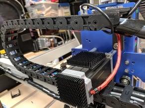 Shapeoko 3 18x37mm Drag Chain Brackets (w/ Beaver HDZ Upgrade)