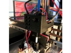 Inline Duet3D IR filament sensor for Railcore II