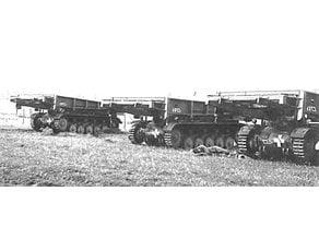 Panzer2 Bruckenleger frame bridge