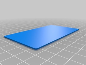 My Customized Business Card - Dual Extrusion