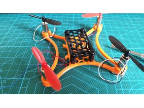 v4 camera top for Micro 105 FPV Quadcopter - Nylon Standoffs