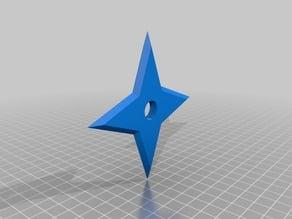 Simple 4 Point Ninja Star