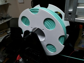 Self-assembly reel for filament