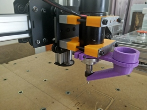 CNC Vacuum Dust Mount