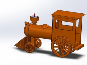 Train Candle Holder