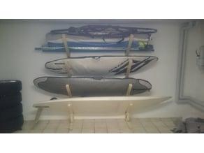 Windsurf shelf - screwable reinforcement - 45° 110 mm leg