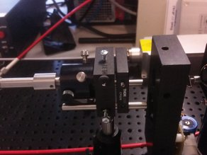 condenser holder for Till Photonics, compatible with THORLABS SM1
