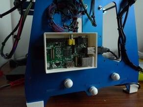 Rasberry Pi case mountable on Orca v0.4x