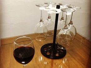 goblet rack/wine glass holder