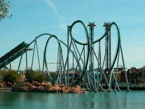 The Incredible Hulk at Universal's Islands of Adventure