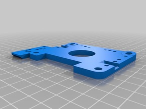 C-Bot direct drive backplate with cheap endstop mount