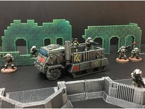 15mm Sci-Fi Space Junker War Truck (baseless remix)