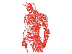 KM Momotaros stencil