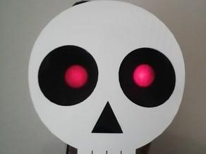 Spooky Skull Mask