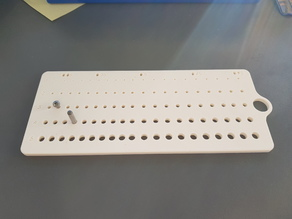 Hole Reference for Printer / Laser Cutter, 1mm-5.95mm, 0.05mm steps