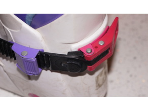 fasteners for ski boots