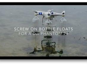 DJI Phantom 2+ Floats - Bottle Mount Adapter