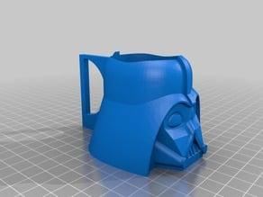 Darth Vader Pot with Handle