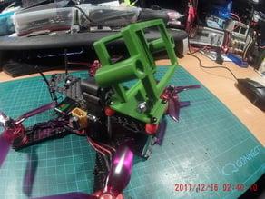 Lisam LS-210 210mm Banggood Carbon Fiber Frame Kit Mini Quadcopter On Top Camera Mount V0.2