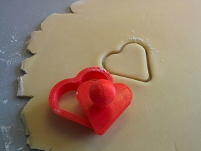 Valentine's Day Heart Shaped Cookie Cutter