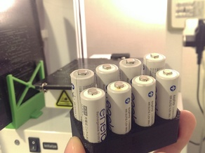 AAA battery stand