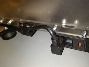 Vertex K8400 power switch holder whith cable hanger
