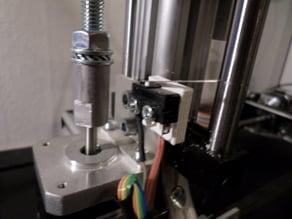 z-axis sensor holder