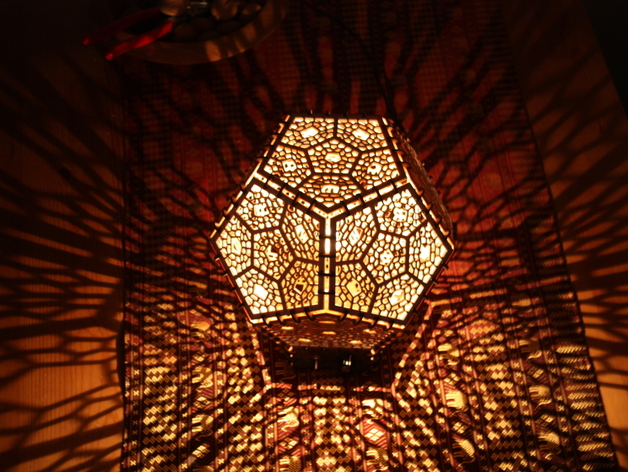 Shadow Lamps dodecahedron shadow lampmichael3 - thingiverse