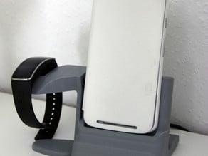 Dockingstation Motorola Moto G (2. Gen) und Gearfit
