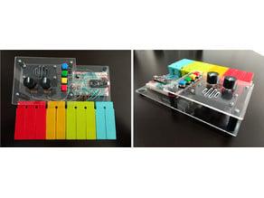 Pentasynth: A homebuilt pentatonic keyboard and synth