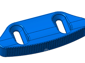 FootStop convex for Skate / longboard