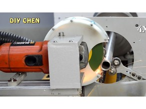 Angle grinder vacuum cover