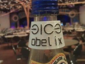 31C3 Parametric Bottle Name Tag