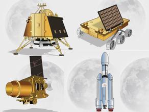 Pragyan Rover - Chandrayaan II