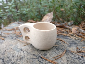 Kuksa - a traditional finnish drinking cup