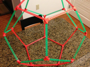Large, Light, Dodecahedron Truss Thing