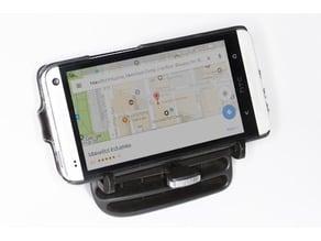 GPS/Smartphone mount for Peugeot 206