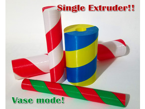 Candy Stripe Fidget Twisters