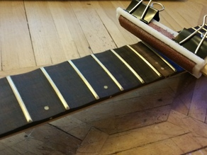 Fretboard Scalloping (sanding)Files