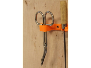 dressing scissors wall mount