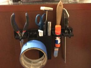 Ultimate Modular 3D Printer Tool Holder Rack
