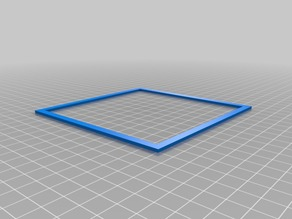 120mm calibration square