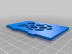 My Customized top cover case for the Raspberry Pi