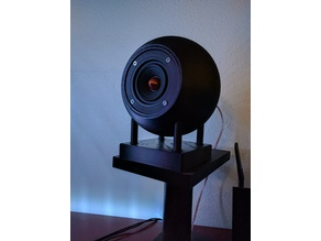 Spherical Speaker Enclosure (Ported) - Dayton PS95-8